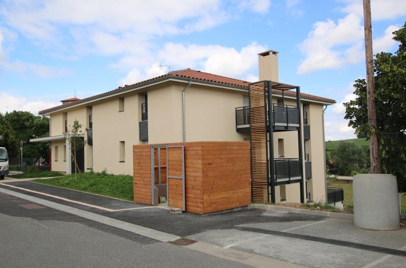 Construction d'un immeuble de 8 logements et d'une micro-crèche