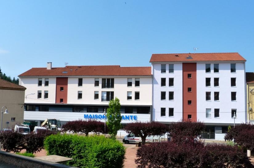 Construction d'une maison médicale en centre ville