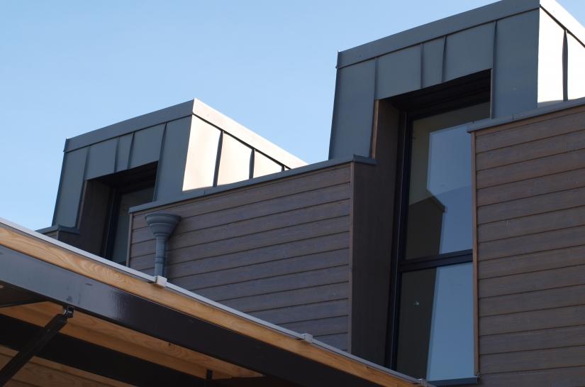 Maison en ossature bois    BBC rt 2012  et bioclimatique