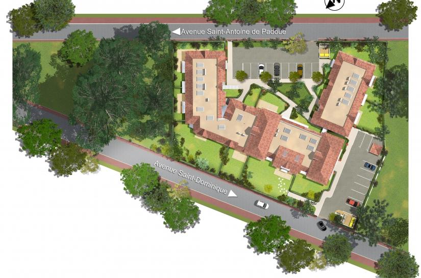 Surface Plancher : 2174 m² Montants des travaux :  3 600 K€