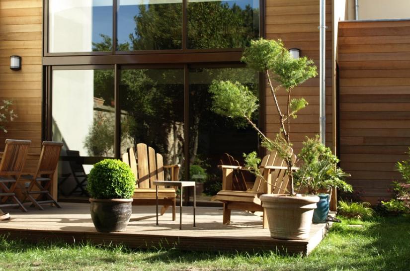 Maison bois Nanterre