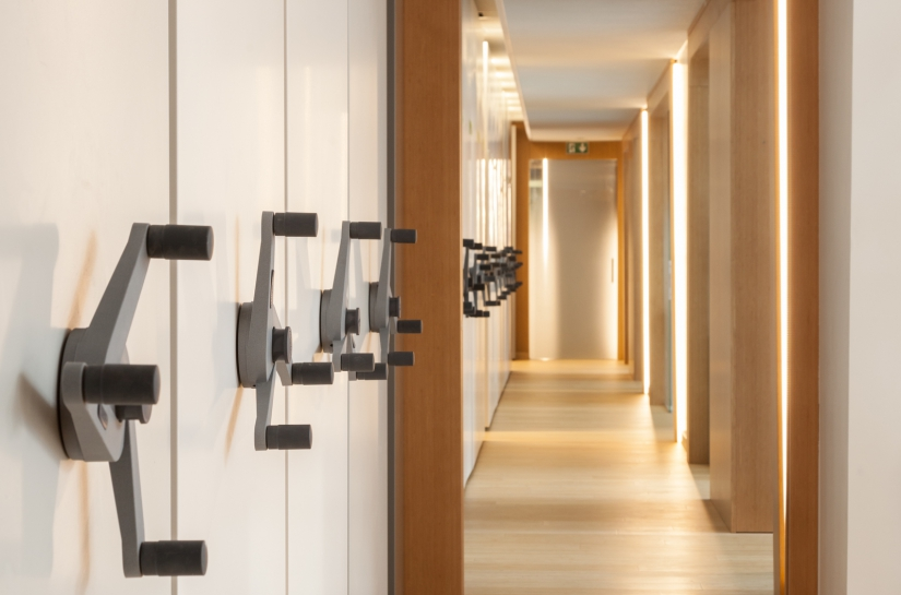 Réhabilitation de bureaux // Paris // design M-CUBE Architectures