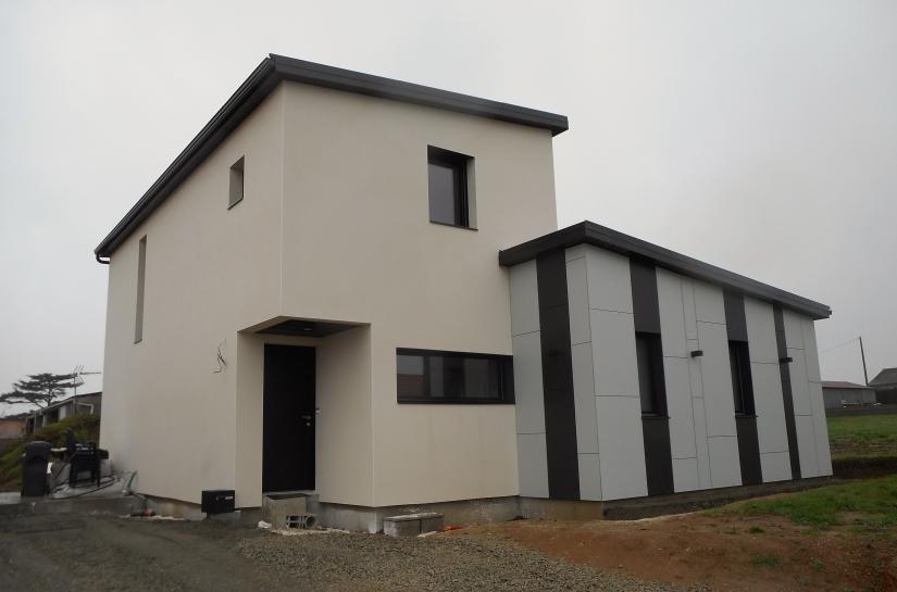 maison bois G&B maine et loire architecte david neau