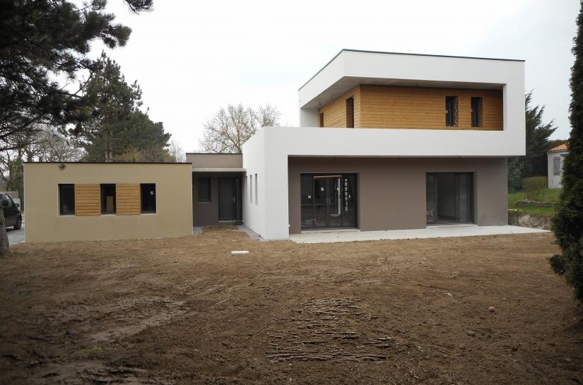 maison contemporaine J&J vendée architecte david neau