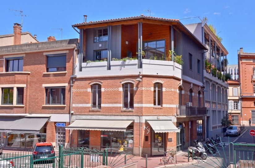 surélévation à Toulouse