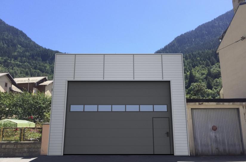 Construction d'un entrepôt à usage de stationnement de véhicules de dépannage.