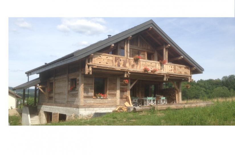 Restructuration d'une grange en Chalet
