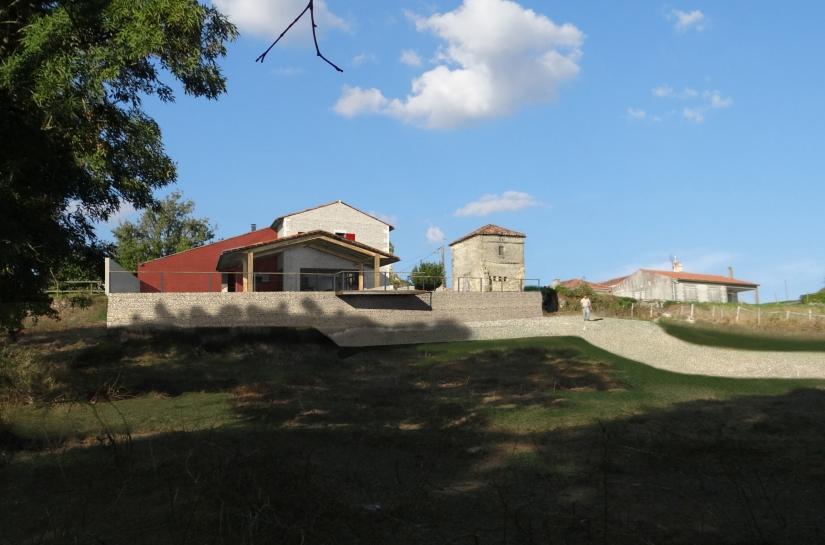 ARCHI D'ICI - Transformation d'une grange - Façade sud