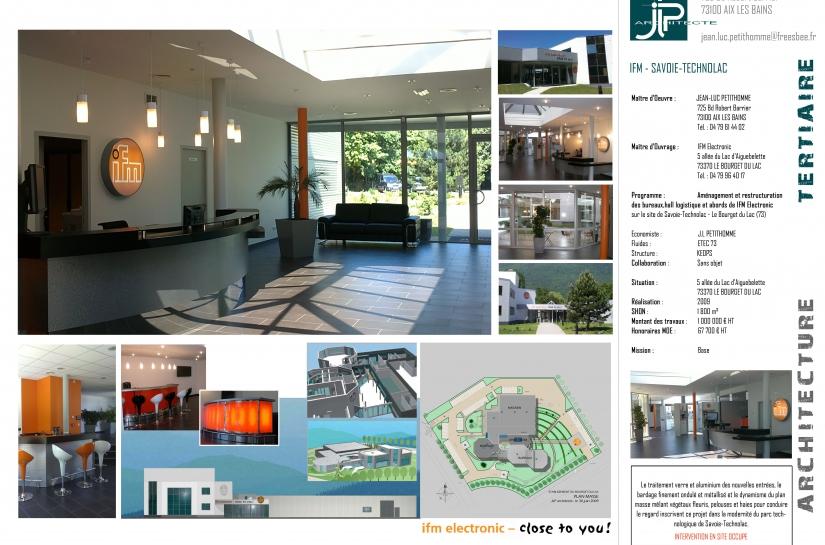 Restructuration des bureaux de IFM - JLP architecte