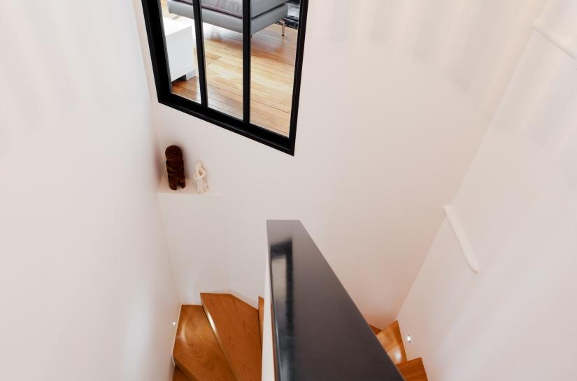création escalier design duplex archi deco nantes home staging conseils amenagement