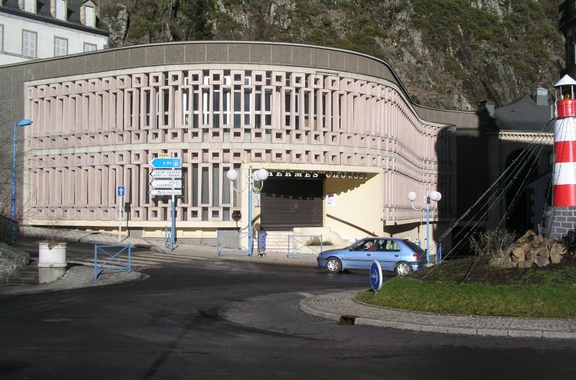 Rénovation thermalisme Façade Choussy La Bourboule