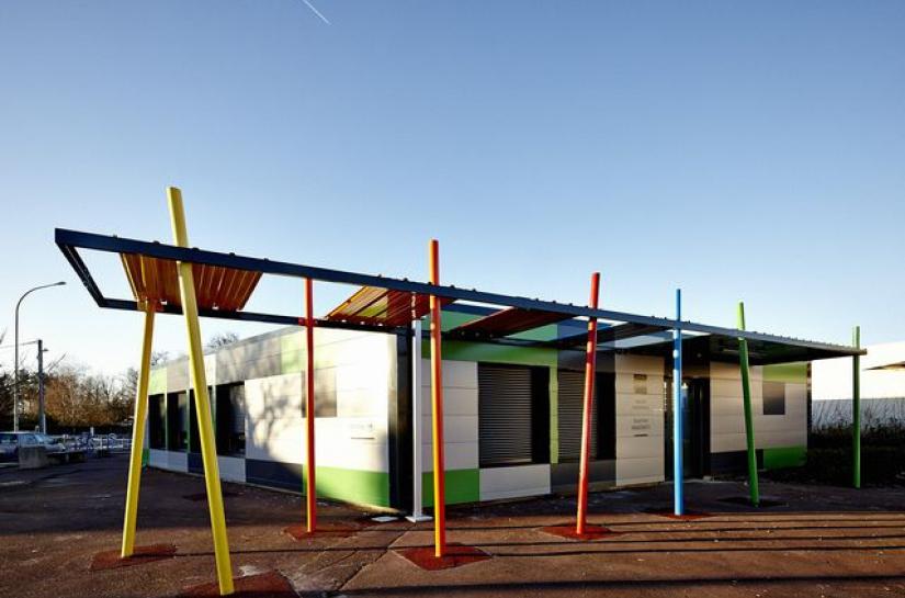Réhabilitation de la Maison Municipale de Magonty, Pessac 33 - Nouvelle Aquitaine