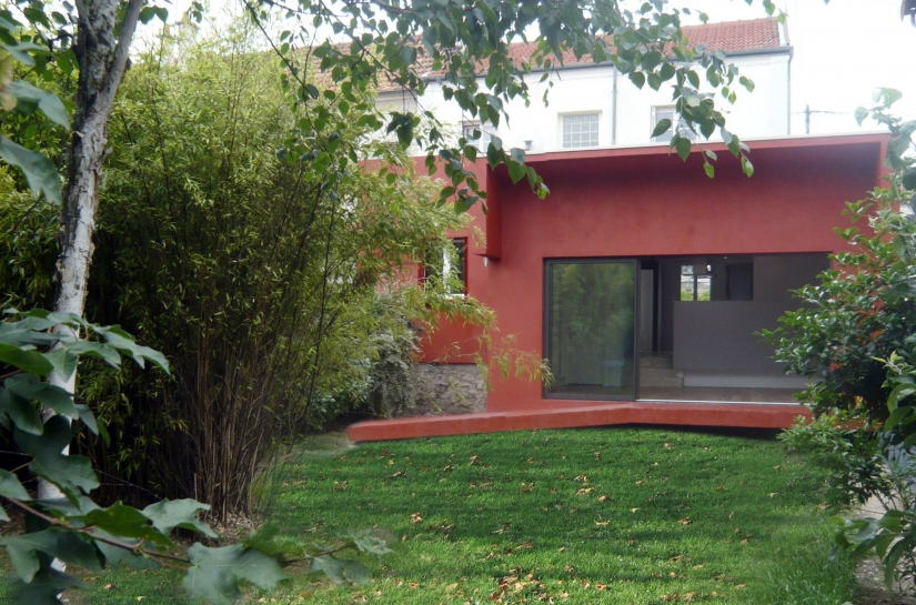 Extension au Perreux sur Marne - Fabrice Commerçon Architecte