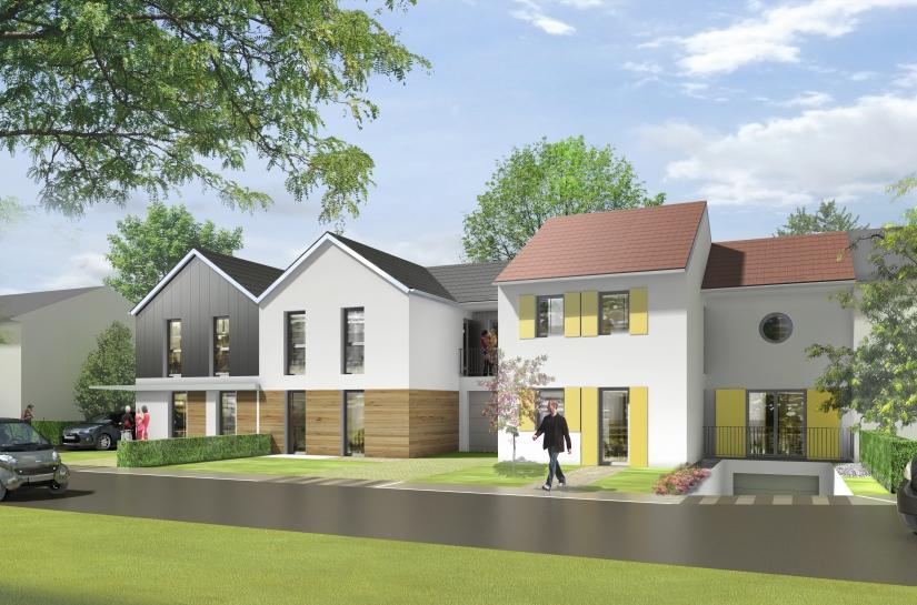 Construction de 16 maisons individuelles à Wissous