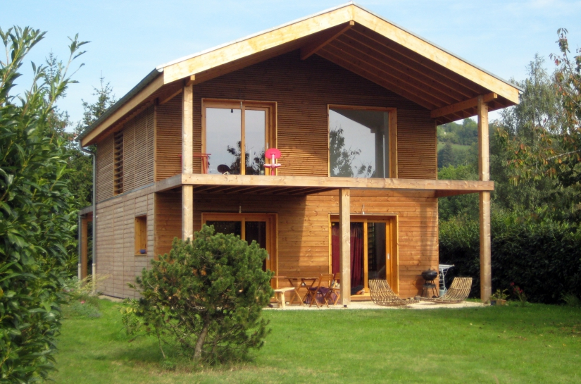Façade principale - Maison Ternant  - Adhoc Architecture - Jean Michel Costaz