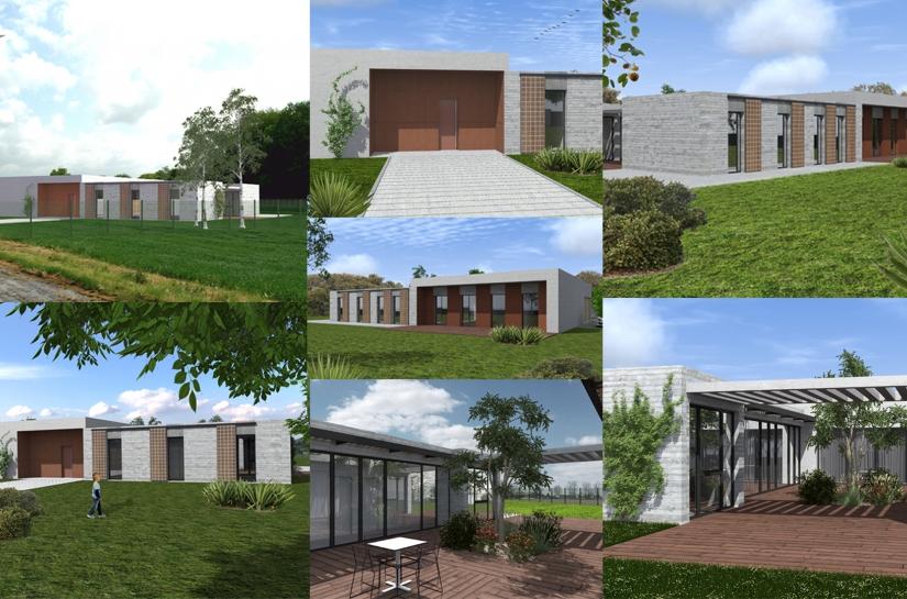 Surface de plancher : 223 m²