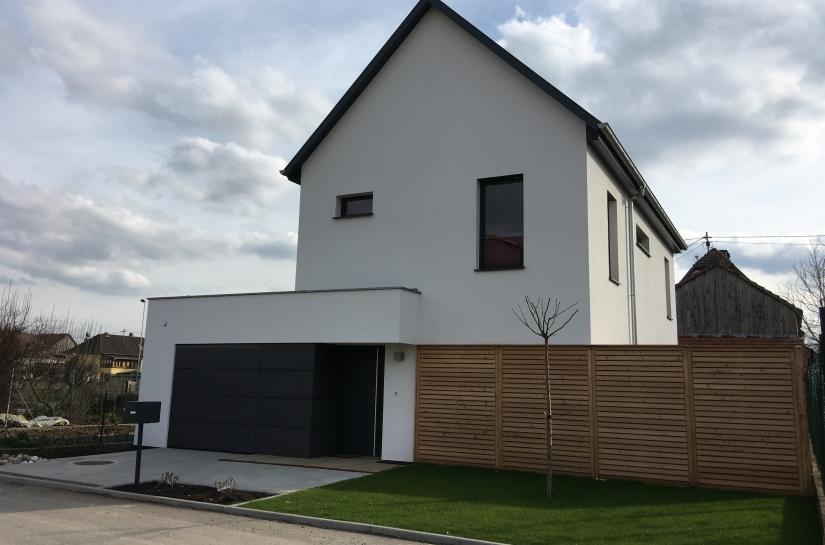 Alain Hugel architecte dplg Maison CF à Altorf