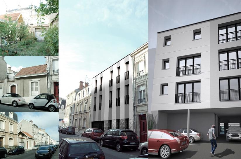 Surface habitable : 370 m² - Montant des travaux : 814 000 € HT