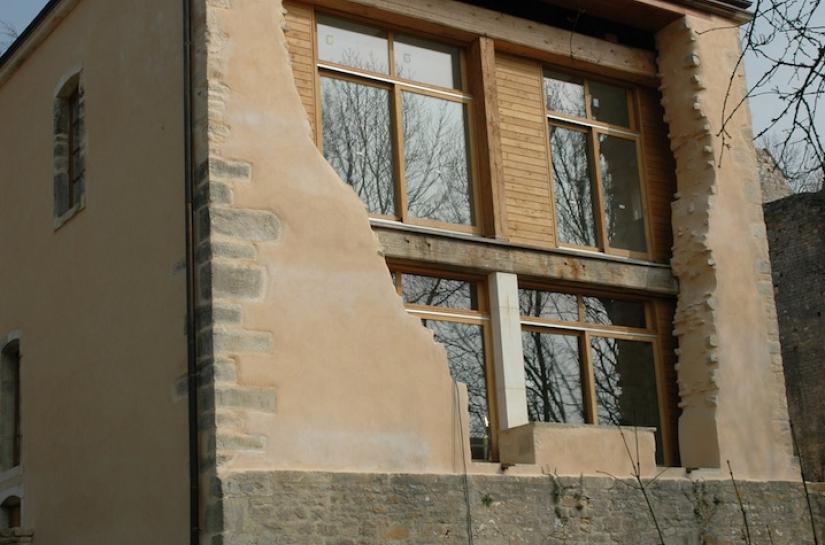Réhabilitation de ruine en logement