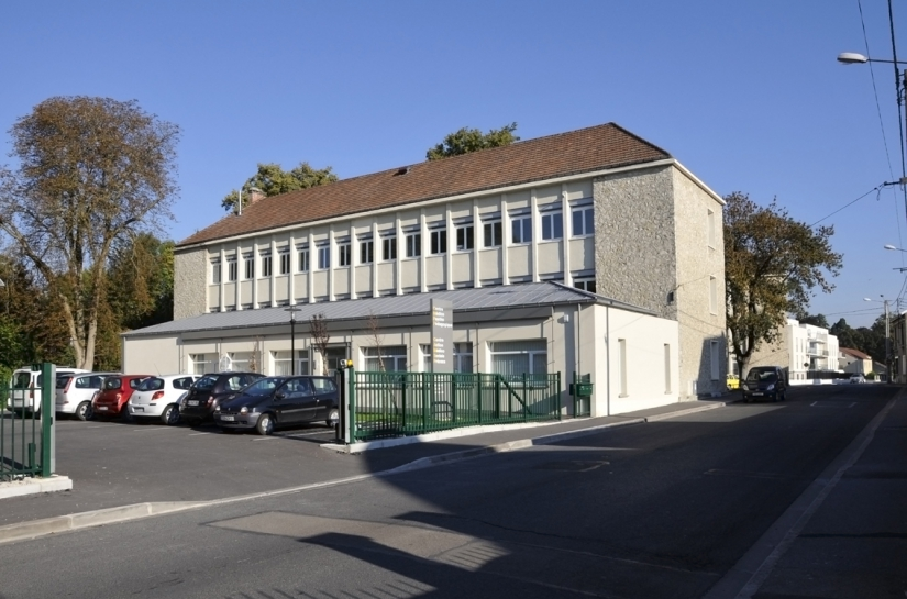 Réhabilitation complète d'un bâtiment existant (ancien groupe scolaire Paul Bert)