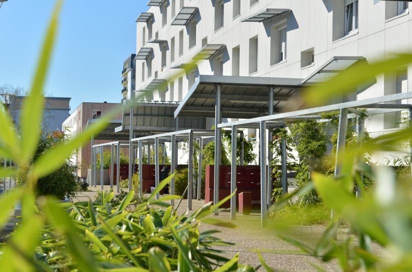 La résidentialisation des espaces extérieurs a permis d'assurer les continuités piétonnes et de créer de nouveaux lieux dédiés au stationnement, au jardin et à la convivialité.