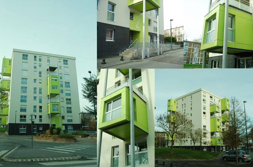 Surface de plancher : 3 915 m² - Montant des travaux : 1 857 320 € HT