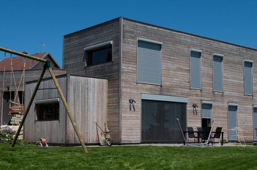 155m2 de maison bois très basse consommation