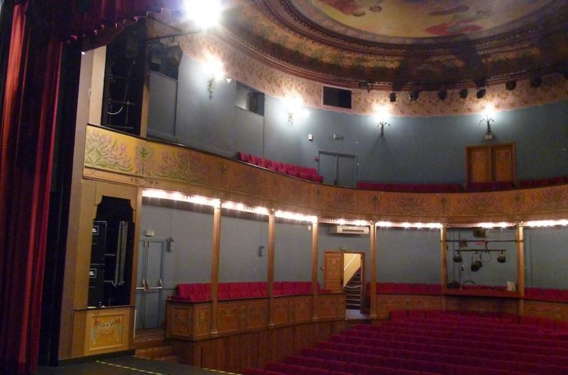 Réhabilitation et mise en sécurité du théâtre municipal