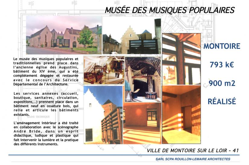 MUSÉE EXTENSION REHABILITATION