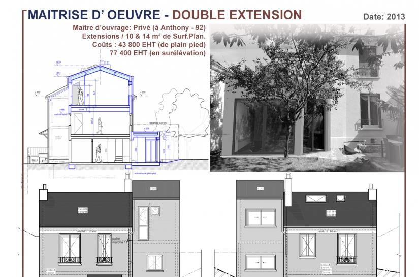Extension d'un pavillon
