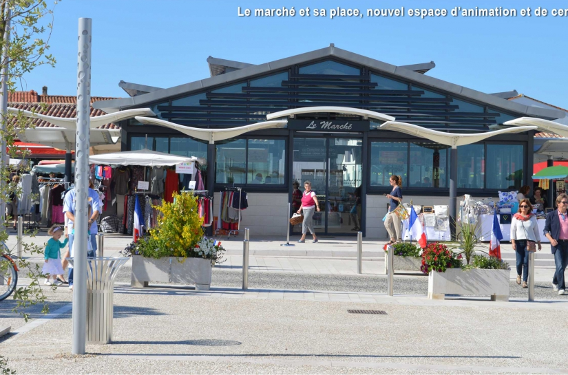 Marché couvert - Rivedoux-Ile de Ré