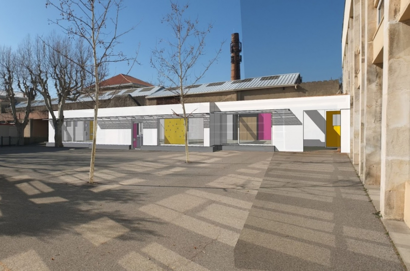 extension cantine scolaire