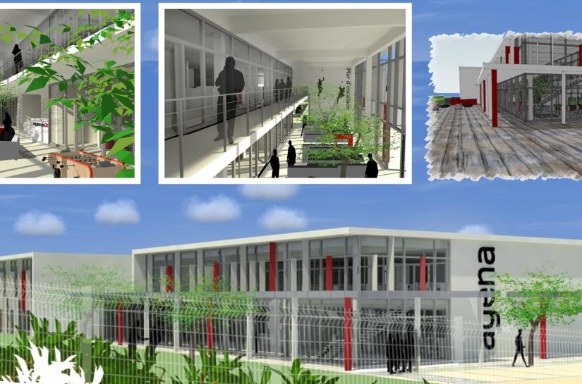 Construction de bureaux
