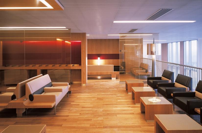 Salon VIP Air France par SLA Architecture