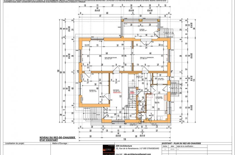 IDN ARCHITECTURE - RÉAMÉNAGEMENT ET AMÉLIORATION THERMIQUE D'UNE MAISON DE MAÎTRE A HOCHFELDEN