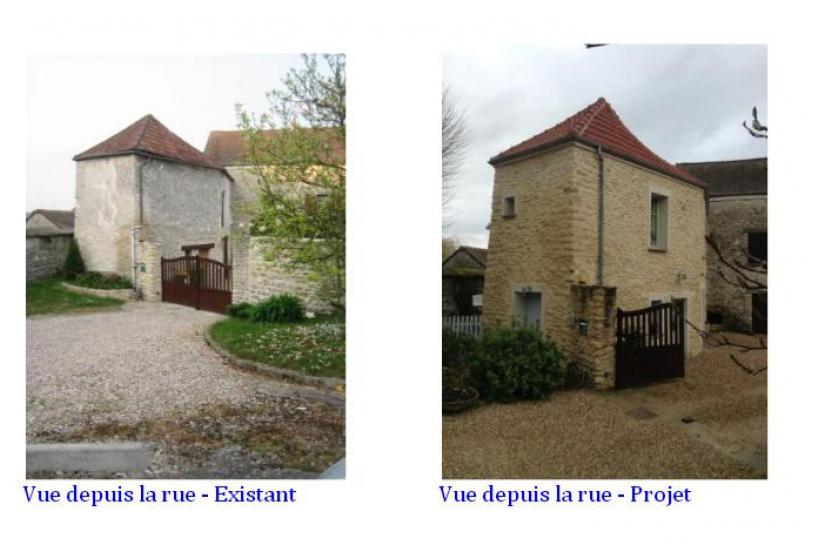 Réhabilitation - Transformation d'une grange en habitation