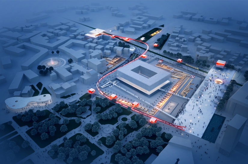 ANSKA Plovdiv Central Square