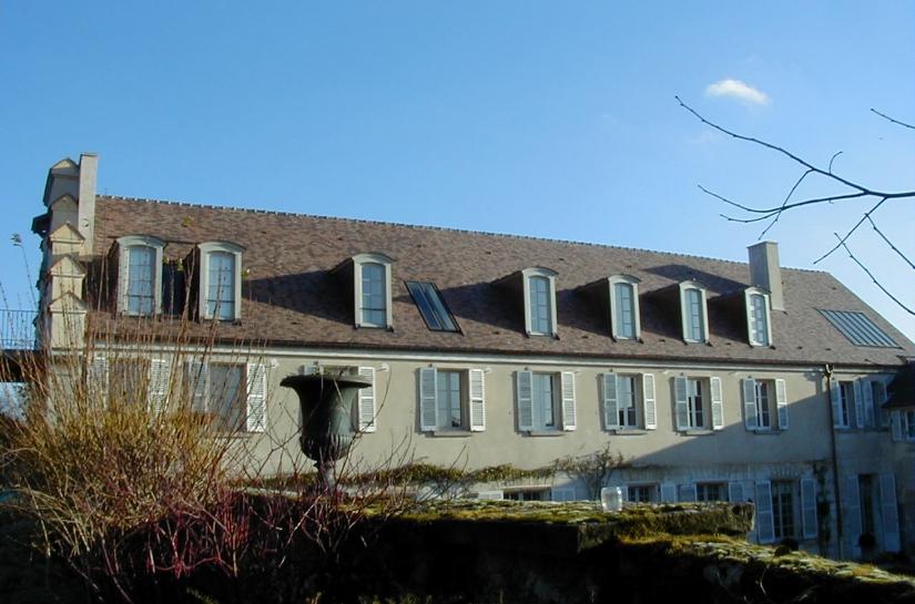 façade cloitre / création des lucarnes et verrières / charpente et toiture refaite