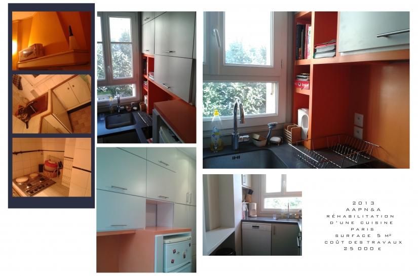 Architecte, Paris, réhabilitation appartement
