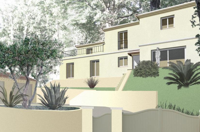 construction villa alpes maritimes