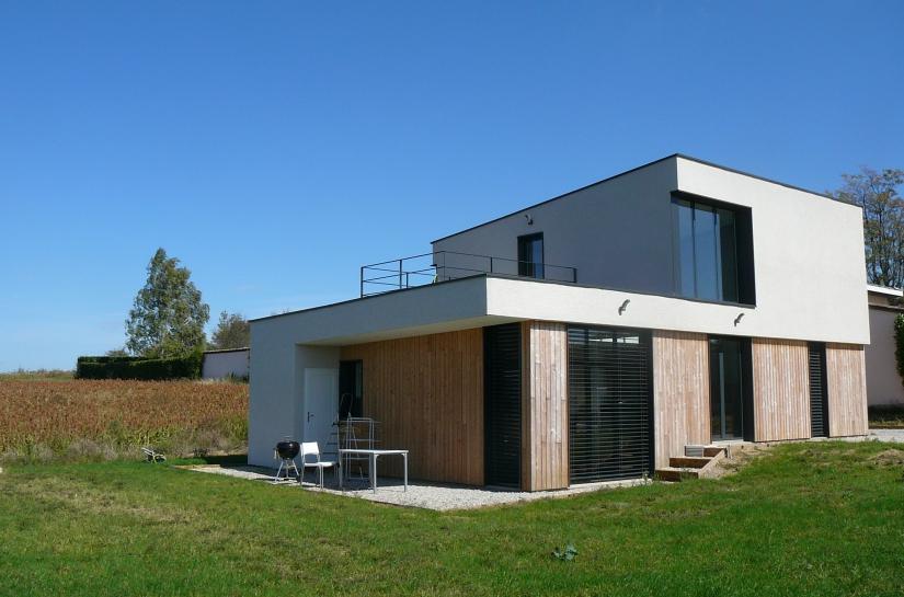 maison ossature bois près de Vienne (Isère)
