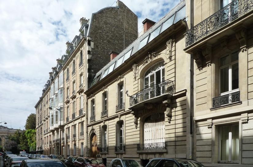 Façade rue Goethe