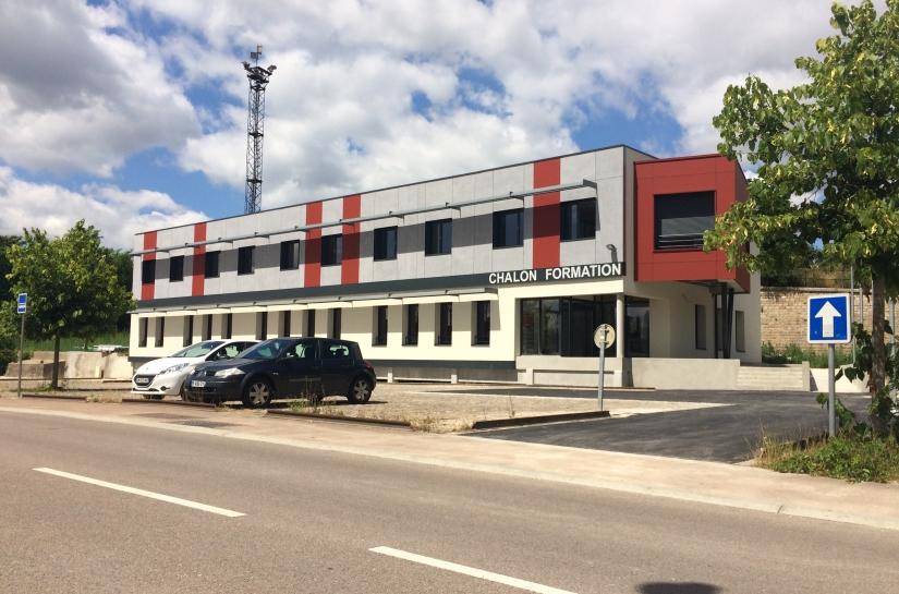 Vue façade principale
