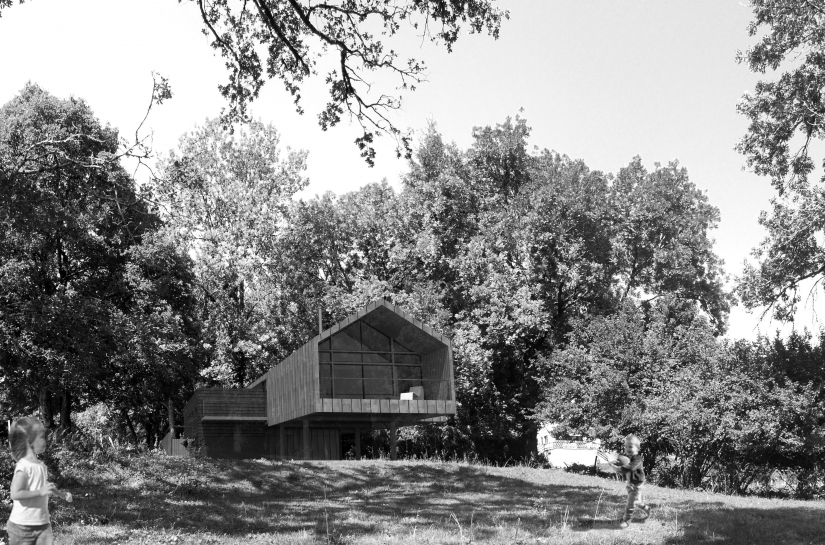 Maison & Gîte - bois zinc et ardoise