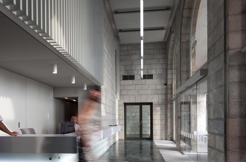 Hall d'accueil Adour / ALC ARCHITECTES