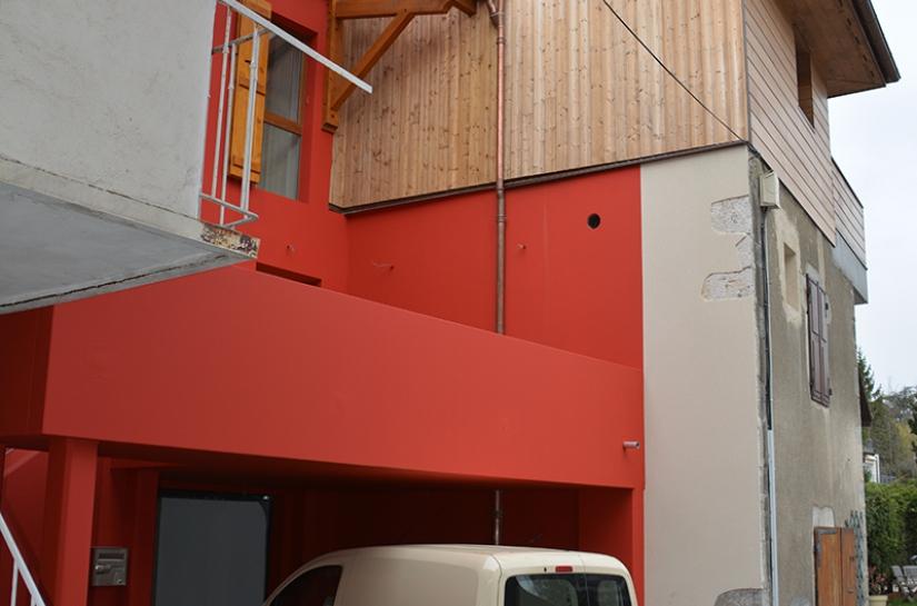 rénovation d'une maison sur 4 niveaux