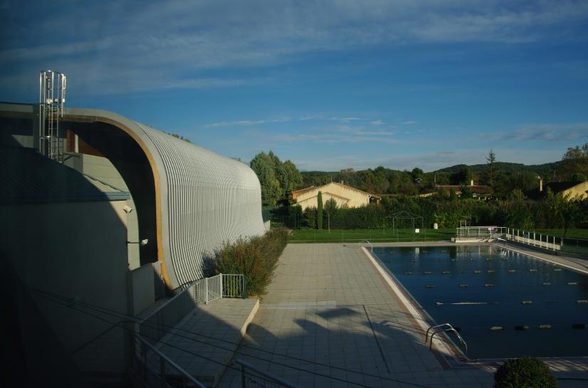 Extension et piscine existante