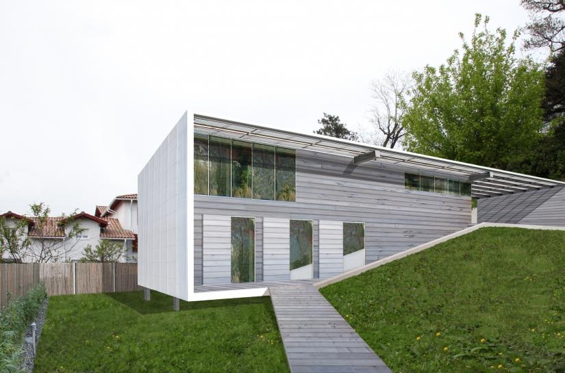 maison individuelle boucau / ALC ARCHITECTES