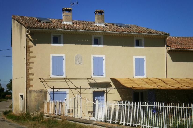 Bâtiment avec les deux logements - après travaux