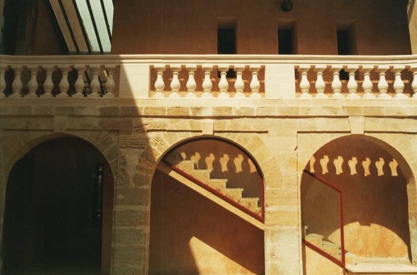 Escalier de la cour intérieure